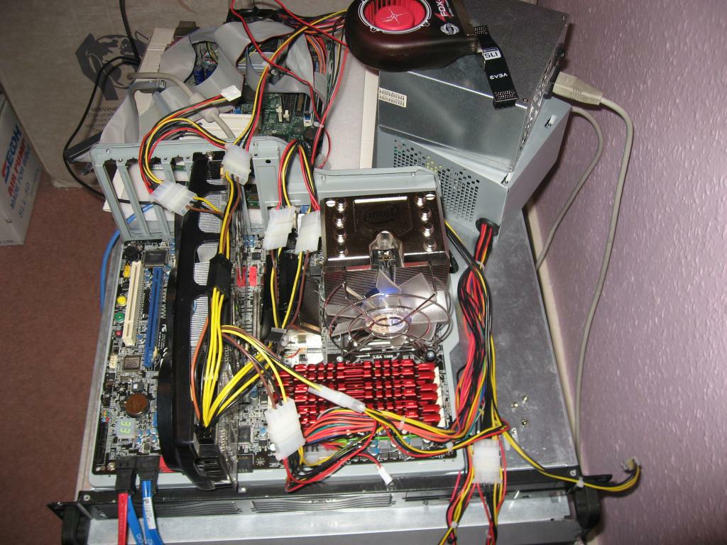 48GB G.Skill RAM Installed