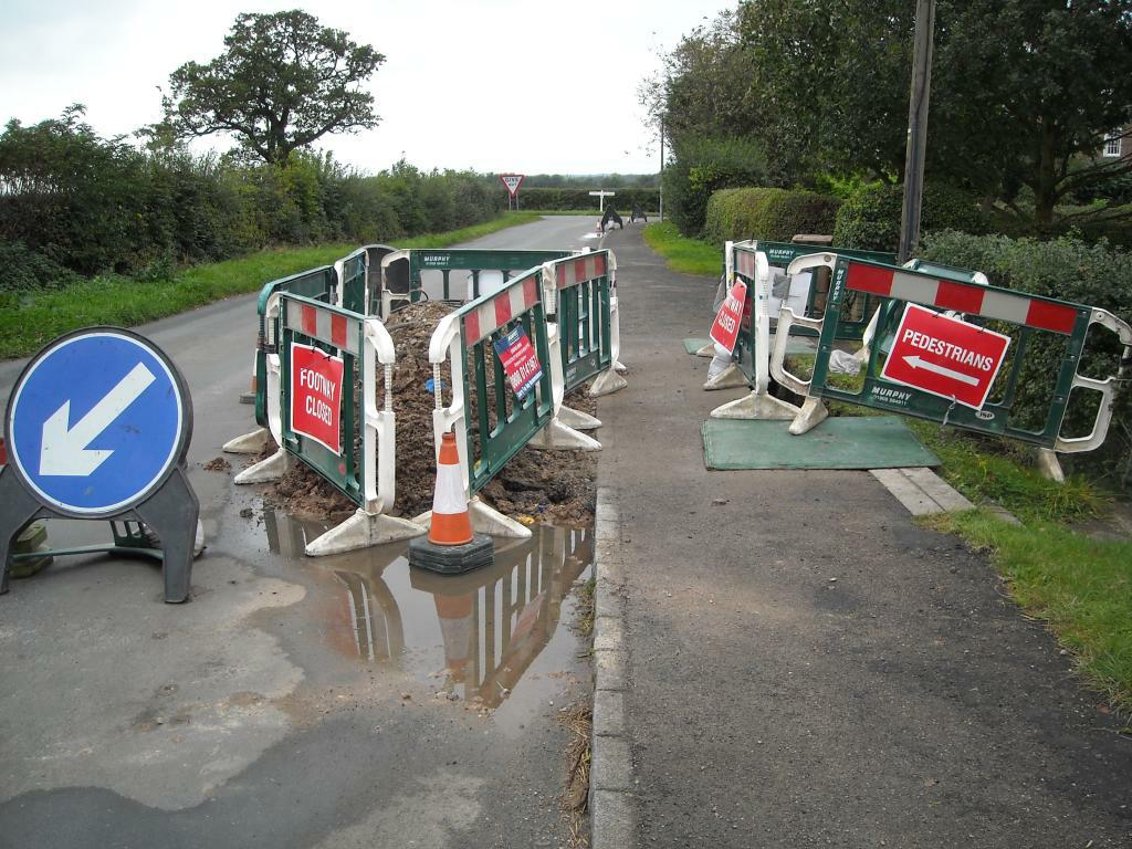 Roadworks in the shire No.1