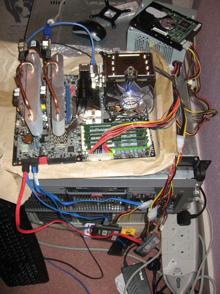 DUAL SLI with 2 x nVidia 8600GT