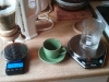 my chemistry set for coffee making