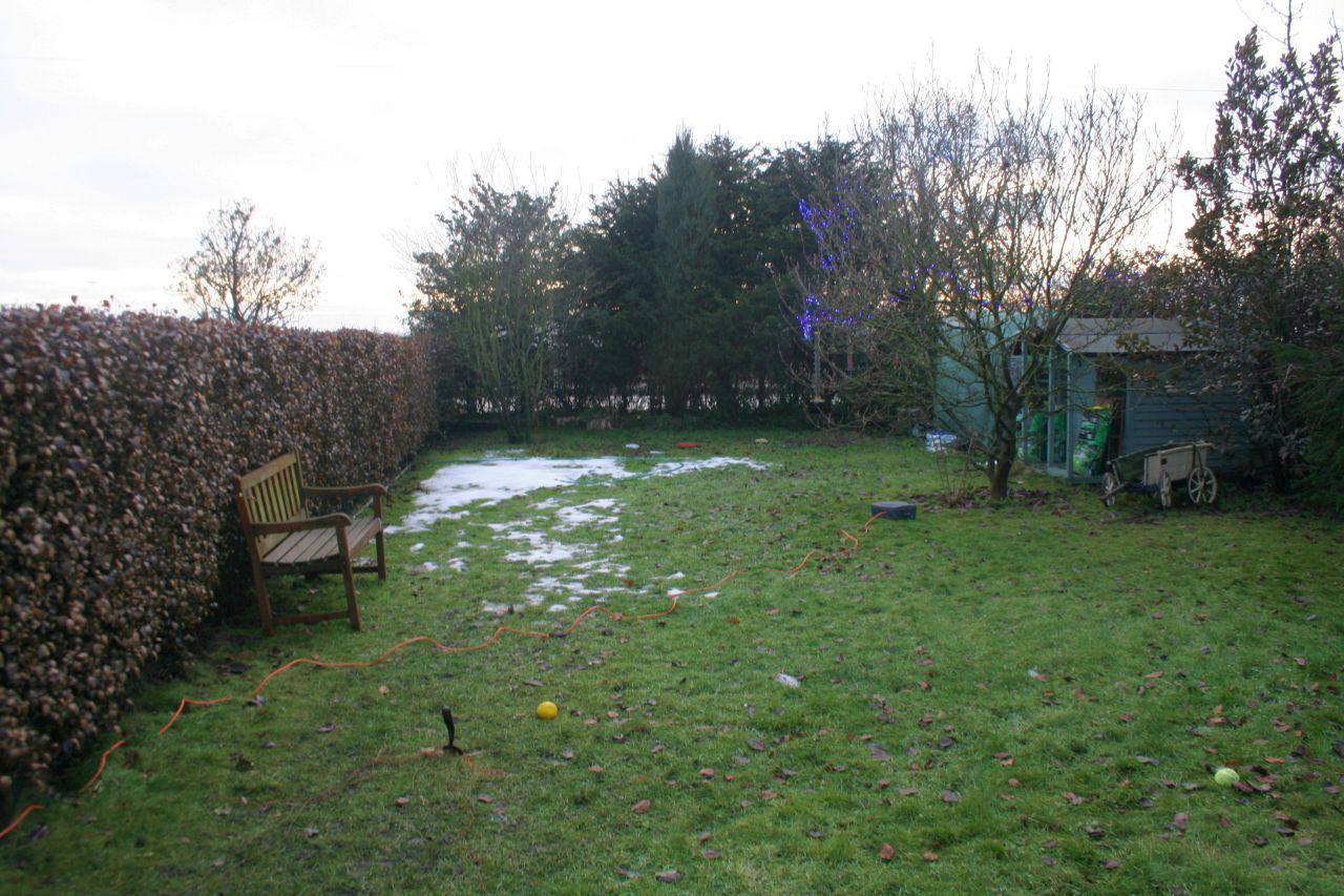 Snow thaws out