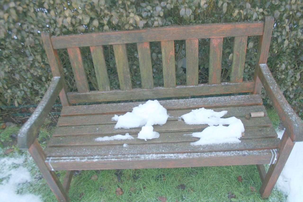 Snow starts to thaw