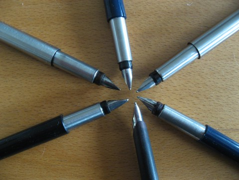 Collection of Parker Fountain Pens