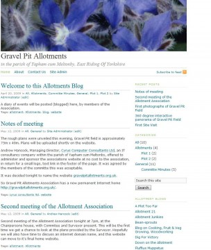 Gravel Pit Allotments Association Home Page