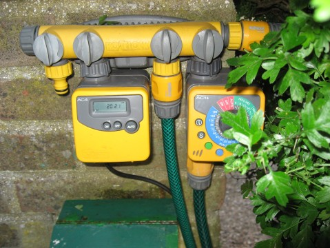 Hozelock AC4 and AC1+ Garden Water Timers