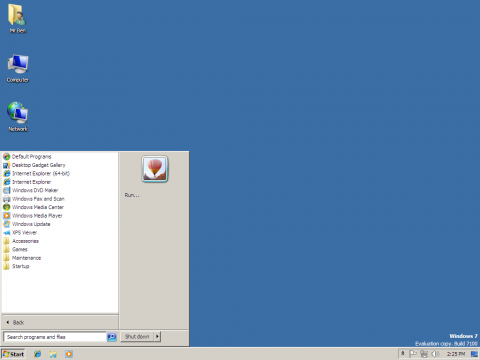 Windows 7 x64 Classic Theme