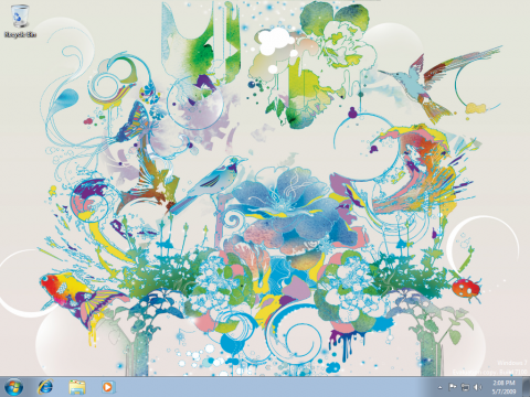 Windows 7 x64 Edition Scene Theme