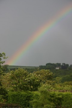 Rainbow over the Yorkshire Wolds No.1