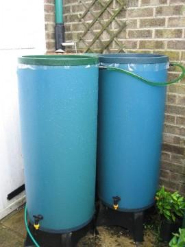 Three Rainmate Water Butts
