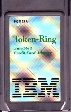Token Ring PCMCIA adaptorq