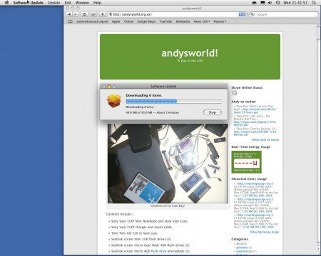 andysworld on the Mac!