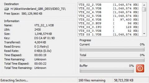 DVD Decrypter output 1