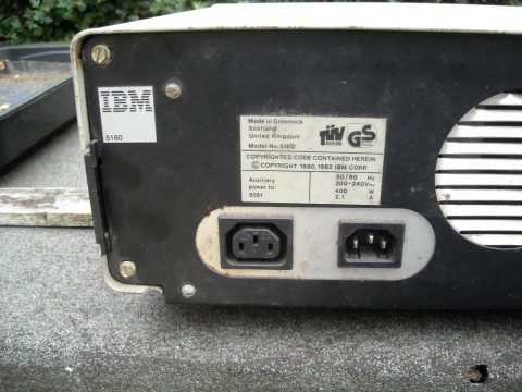 IBM XT Personal Computer Model 5160 Made in Scotland