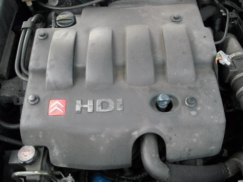 HDi Engine Cover on Citroen Xsara MkII 2.0 HDi
