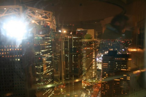 View from Tokyo Metropolitan Government Office Building At Night
