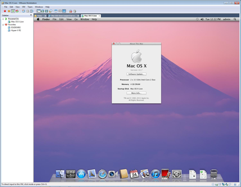 Mac OS X 10 7 Lion « andysworld!
