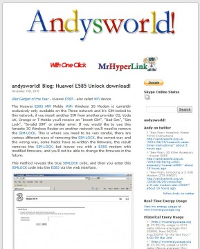 Andysworld New Logo and Indentity