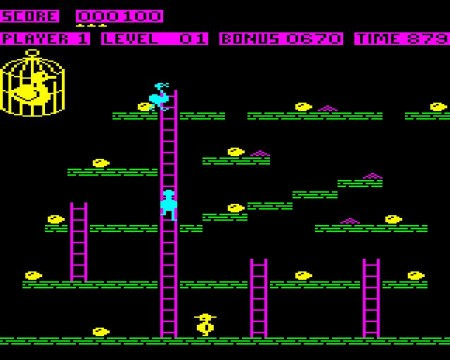 Chuckie Egg on the BBC Micro