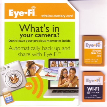 Eye-Fi Wireless WiFi SD Memory Cards