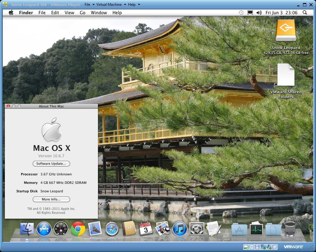 Mac OS X Virtualization Part IV – Install Mac OS X 10 6 7