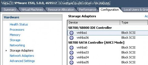 No official support for the Qlogic QLE-220 in ESXi 5.0, vSphere GUI client before tweak