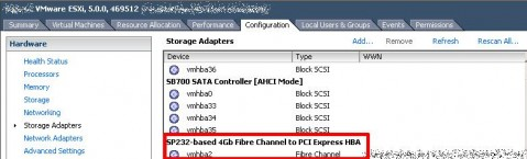 Qlogic QLE-220 in ESXi 5.0, vSphere GUI client after tweak