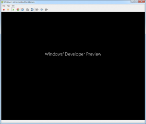 Microsoft Windows 8 Developer Preview Boot