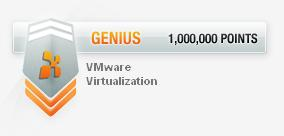 Genius Badges after Virtualisation Badge