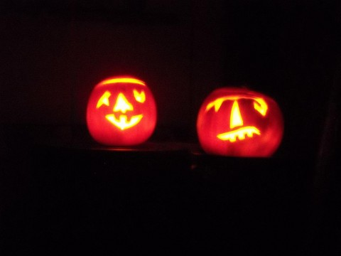 Carved Pumpkins for Oct 31 2011