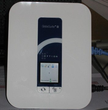 Option GlobalSurfer III 3G Network Router