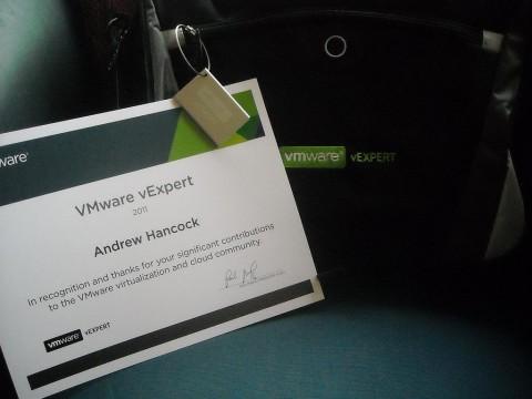 VMware vExpert swag