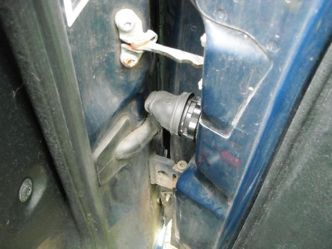 Door Wiring Connector on Citroen Xsara Phase 2