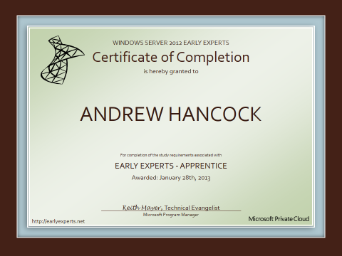 windows-server-2012-early-experts-apprentice-certificate