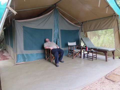 andy-outside-tent-masai-mara-national-reserve2