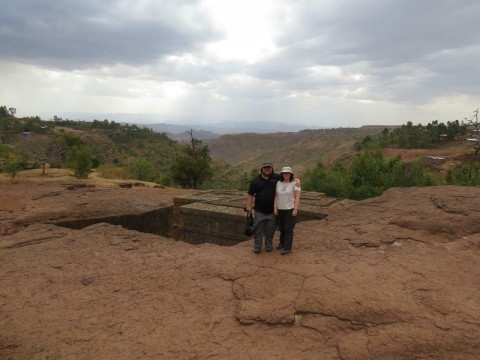 Rock Churches in Lalibela, Ethiopia