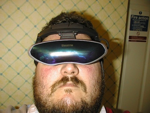 Sony Glasstron Glasses