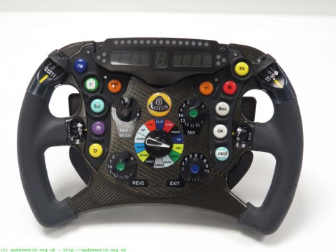 Lotus F1 Team Steering Wheel
