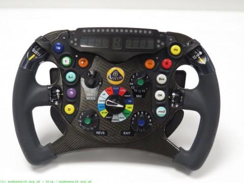 Lotus F1 Team Steering Wheel