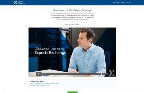 New Look Experts Exchange