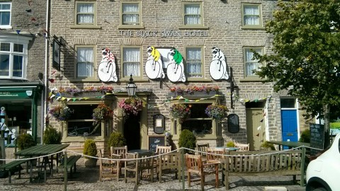 The Black Swan Hotel in Leyburn
