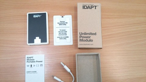 Contents of the boxed Idapt Modulo