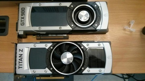 nVidia GeForce GTX Titan Z and GeForce GTX 980
