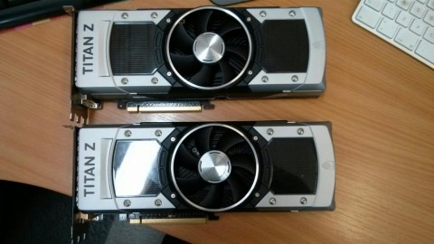 Two nVidia GeForce GTX Titan Z