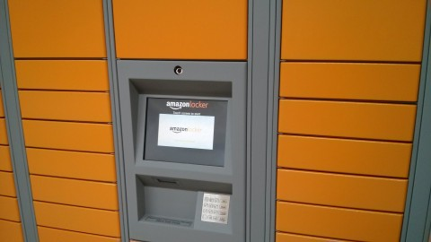 AmazonLocker on Campus