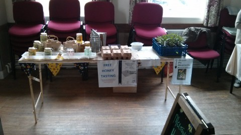 Honey Stall at Yapham Village Hall