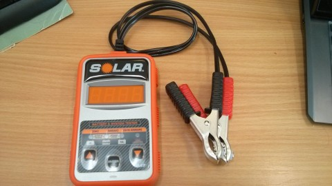 Solar BA7 Battery & System Tester for 12v batteries