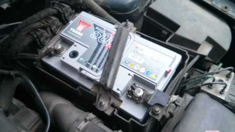 New battery installed....