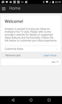 Android Alexa App