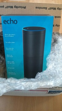 Amazon Echo sealed box
