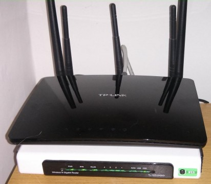 TP-LINK Archer D20 AC750 Wireless Dual Band ADSL2+ Modem Router for Phone Line Connections